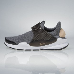 Sneakers buty Nike WMNS Sock Dart SE black / vachetta tan-black-white 862412-001