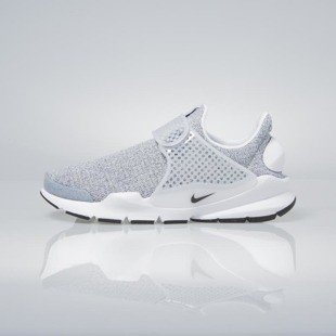 Sneakers buty Nike WMNS Sock Dart Se white / black-metro grey 862412-100
