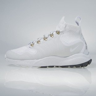 Sneakers buty Nike Zoom Talaria Mid FK white / white-pure platinum 856957-100