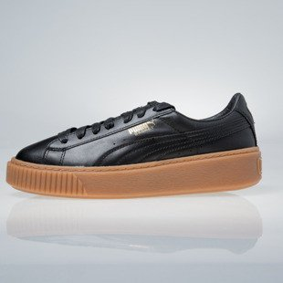 Sneakers buty Puma Basket Platform Core black 364040-02