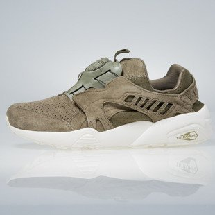 Sneakers buty Puma Disc Blaze Mono agave green / whisper white 362684-02