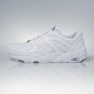 Sneakers buty Puma R698 Core Leather white / steel gray (360601-01)