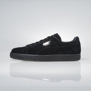 Sneakers buty Puma Suede Classic+ black-dark shadow 352634-77
