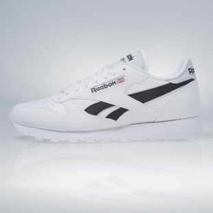 Sneakers buty Reebok Classic Leather Pop white / black (AR0298)
