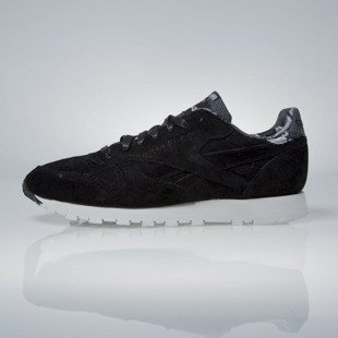 Sneakers buty Reebok Classic Leather TDC black / skull grey (AR1433)