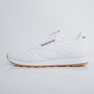 Sneakers buty Reebok Classic Leather White / Gum (49799)