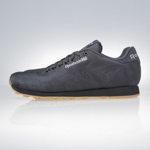 Sneakers buty Reebok Classic Runner Jacquard TC coal / black / mgh solid grey (V67886)