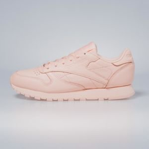 Sneakers buty Reebok Classic WMNS Leather L grit - peach twist / sleek met BS7912