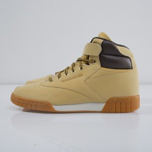 Sneakers buty Reebok Ex-O-Fit Plus HI WP wheat / dark brown (M49997)