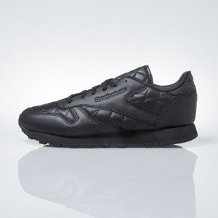 Sneakers buty Reebok WMNS Classic Leather Quilted black (AR1263)