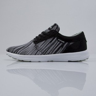 Sneakers buty Supra Hammer Run black / brushstroke - white (S55015)