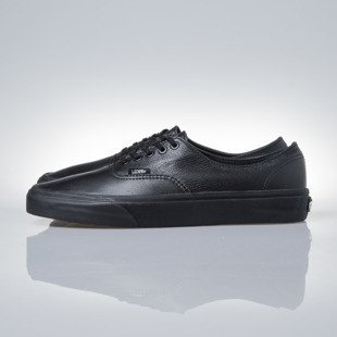 Sneakers buty Vans Authentic Decon (Premium Leather) black / black (VN-0 18CGKM)