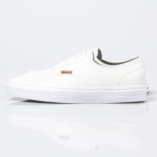 Sneakers buty Vans Era Decon + (Leather Emboss) Blanc de Blanc (VN0004OZIFG)