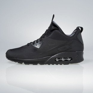Sneakers buty zimowe Nike Air Max 90 Mid Winter black 806808-002