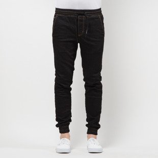 Spodnie Elade Super Slim Tab black denim
