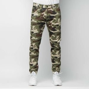 Spodnie Mass Denim Base Joggers Sneaker Fit woodland camo