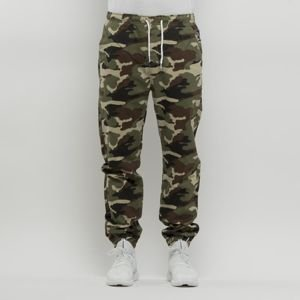 Spodnie Mass Denim Signature Joggers Sneaker Fit woodland camo