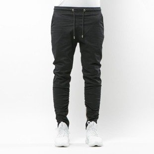 Spodnie Phenotype Black Propcrotch Zipper Pants black