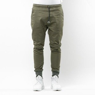 Spodnie Phenotype Knitted Welt Sneaker Pants 2.0 olive