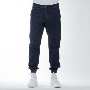 Spodnie Turbokolor Trainer Chino Denim navy SS16