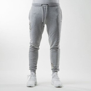 Spodnie dresowe Criminal Damage Shoreditch Jogger grey