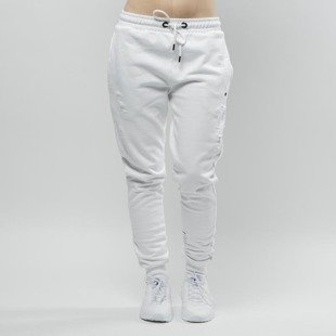 Spodnie dresowe Criminal Damage WMNS Shoreditch Jogger white