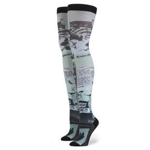 Stance x Rihanna zakolanówki Most Wanted Thigh High mint W922C15MOS