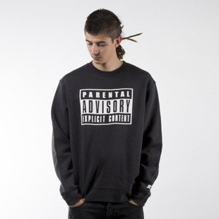 Starter bluza crewneck Parental Advisory Core Logo Sweat black / white (PA-SW27-CORESWEAT)