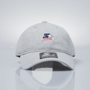 Starter czapka strapback cap Pique Series Pitcher grey heather / blue  ST-1166