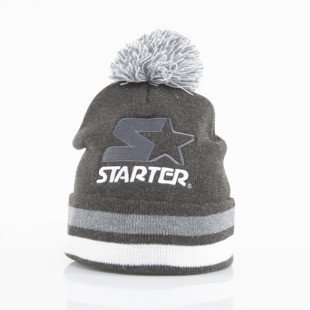 Starter czapka zimowa True Knit grey / white ST-436