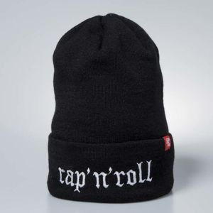 Stoprocent czapka zimowa Rap'N'Roll black / white