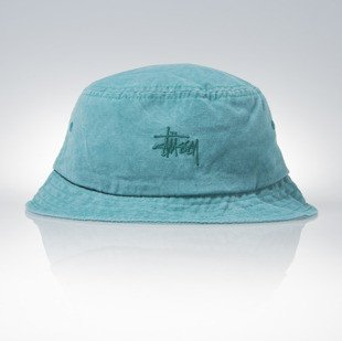 Stussy bucket hat kapelusz Smooth Stock Enzyme teal