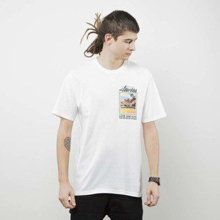 Stussy koszulka t-shirt Love And Hate Tee white