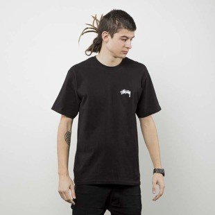 Stussy koszulka t-shirt Surfman Check Tee black
