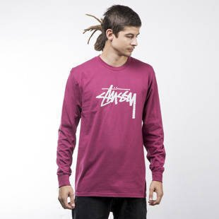 Stussy longsleeve koszulka Stock grape