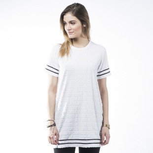 Stussy sukienka Terry Dress white WMNS