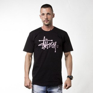 Stussy t-shirt koszulka Water Stock black
