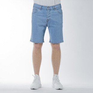 Szorty Turbokolor Denim Shorts light blue SS16