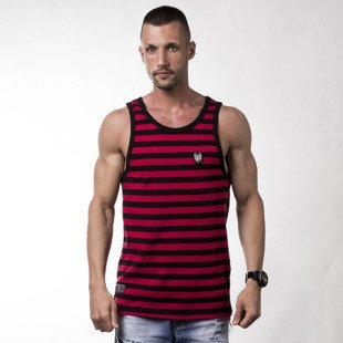 Tanktop Turbokolor TNS Tanktop red / sea ss16