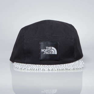 The North Face czapka 5-panel Five Panel Cap black / white