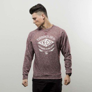Turbokolor bluza Crewneck heather red