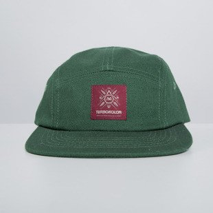 Turbokolor czapka strapback Five Panel Cap Basic green