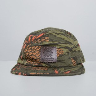 Turbokolor czapka strapback Five Panel Cap Logo cone print