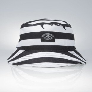 Turbokolor kapelusz Maneaters Bucket Hat Sailor white / black
