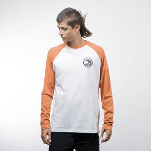 Turbokolor koszulka Longsleeve Bite white / orange