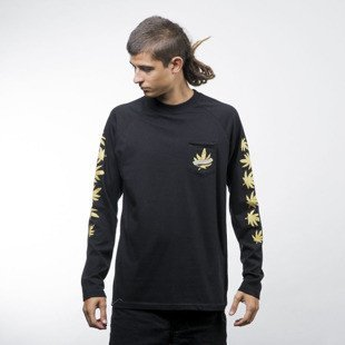 Turbokolor koszulka Longsleeve Pocket Lucky Cat black