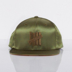 Undefeated czapka snapback Flight Jacket olive