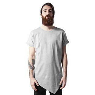 Urban Classics koszulka Asymetric Long Tee grey
