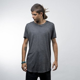 Urban Classics koszulka Long Back Shaped Spray Dye Tee dark grey (TB1231)
