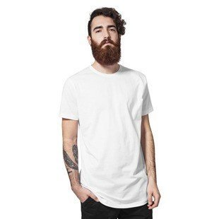 Urban Classics koszulka Shaped Long Tee white